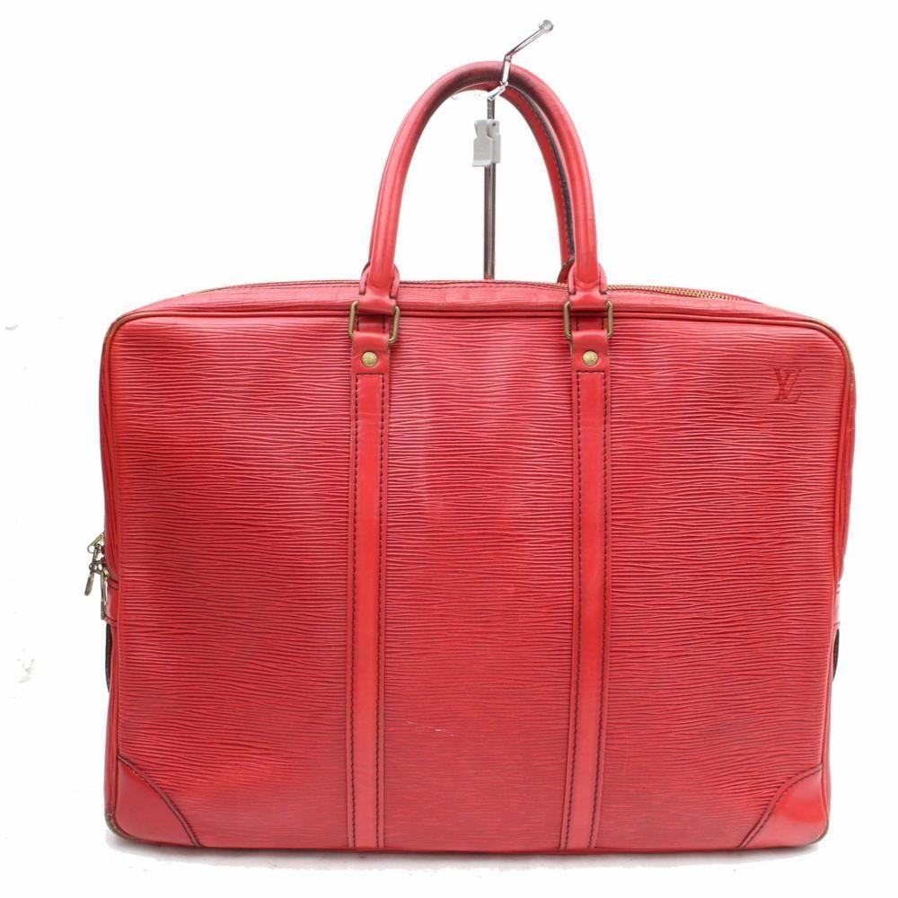 dc7dc3e60f94 Authentic Louis Vuitton Business Bag Porte Documents Voyage M54477 Epi  266029  fashion  clothing