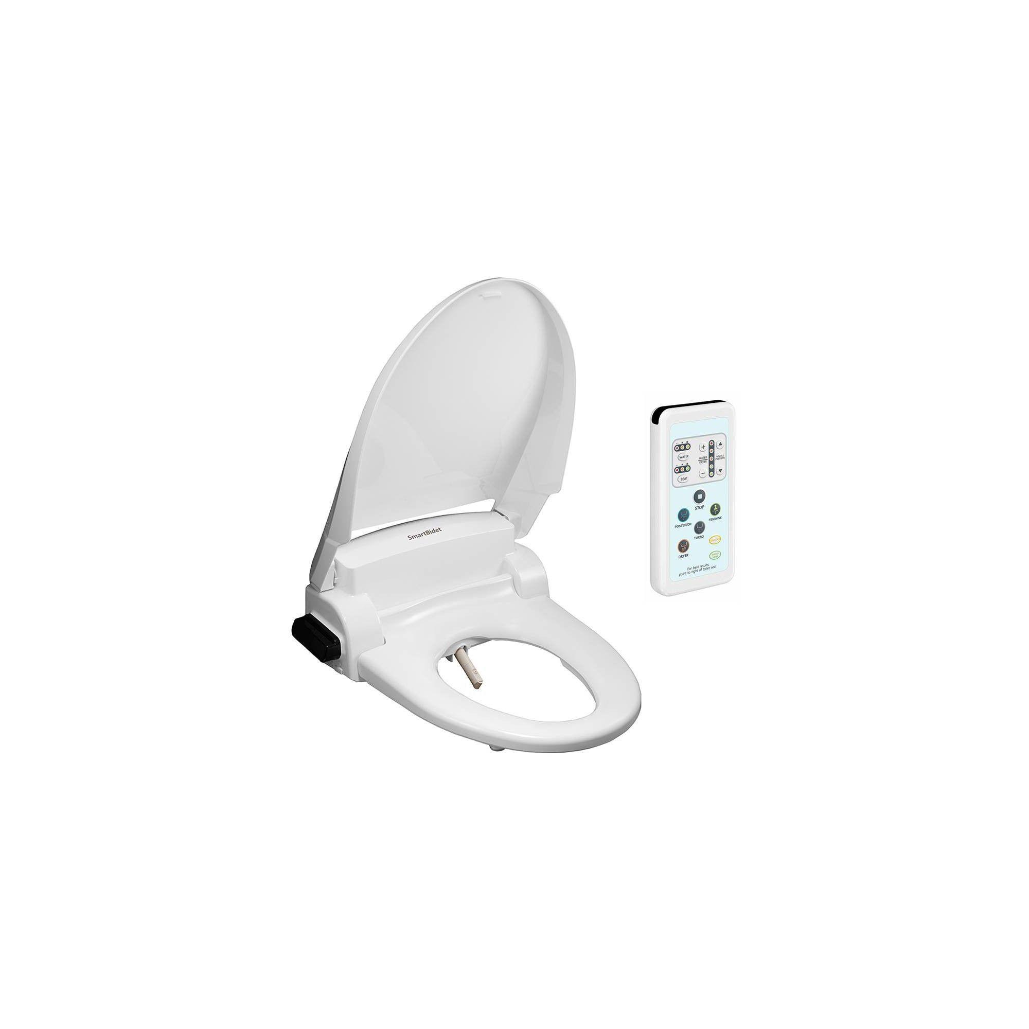 Sb 1000we Electric Bidet Toilet Seat For Elongated Toilets White