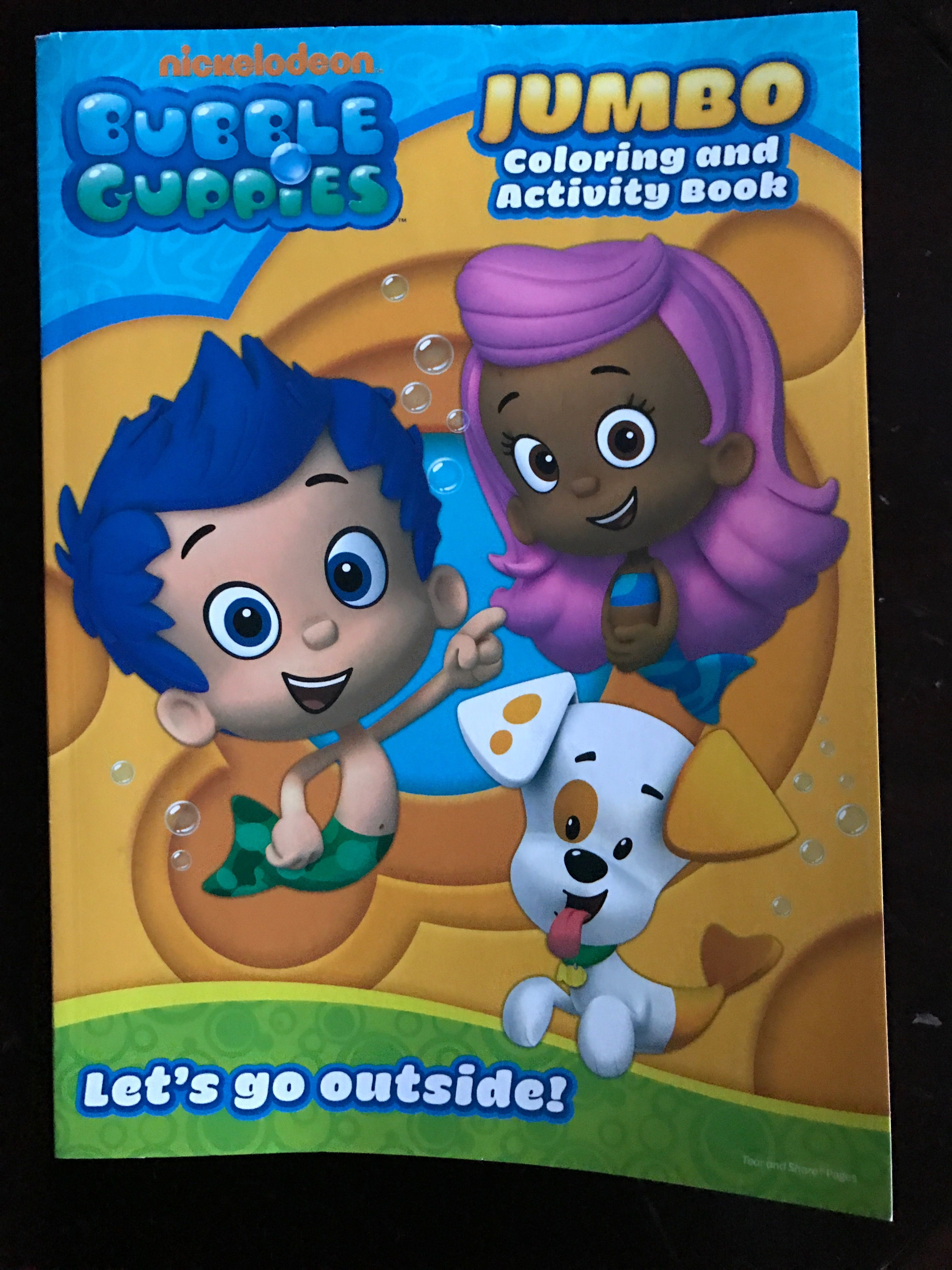 Bubble Guppies Party Favors Coloring Books From City 100