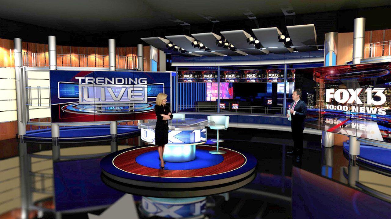 News Studio Concept 3