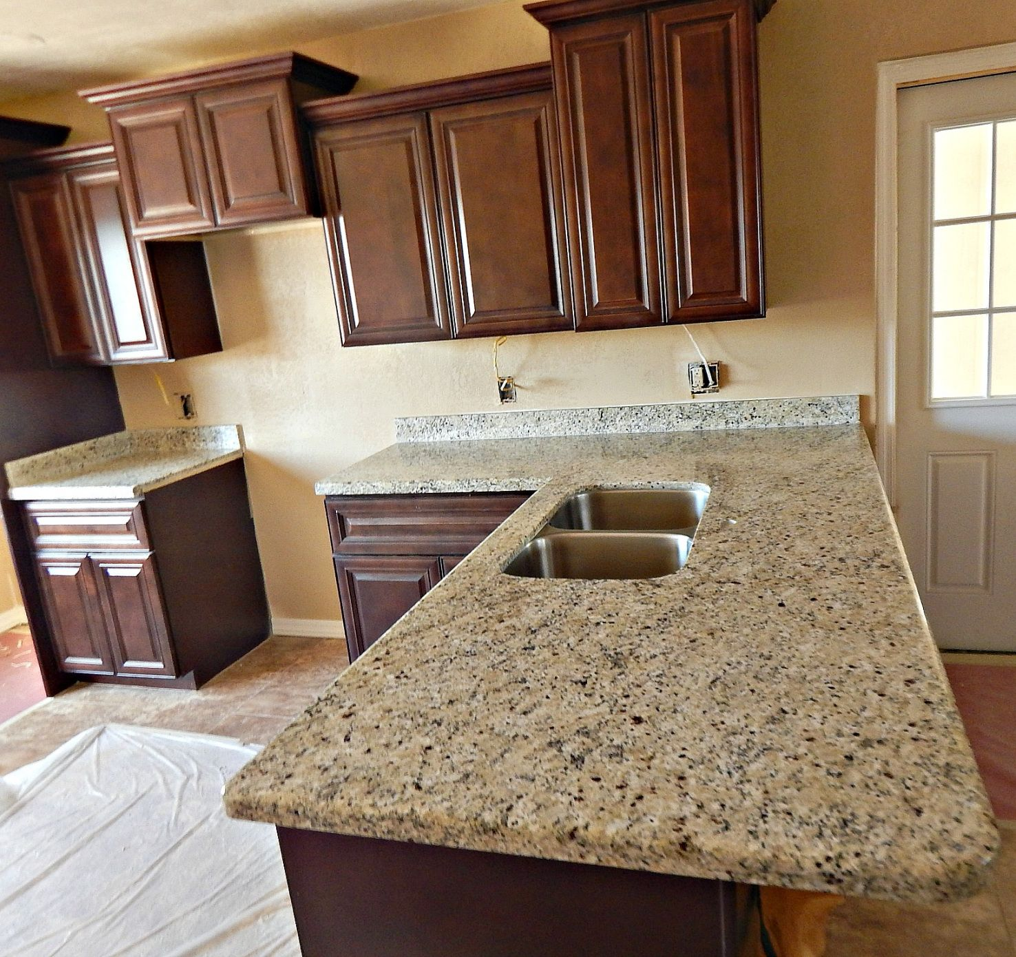 50+ Bainbrook Brown Granite Countertop   Small Kitchen Island Ideas With  Seating Check More At