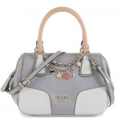 Soldes Guess Sac Shopping Girlfriend Gris 20 Bags Top Handle Bag Fashion