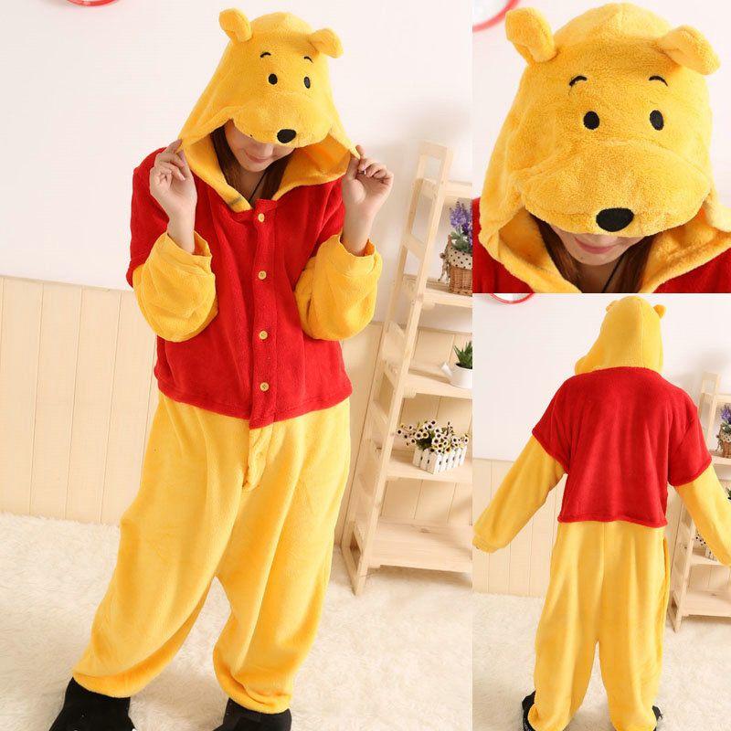 PajamasBuy - Animal unisex Adult Winnie the Pooh Onesies Hoodie kigurumi Pajamas, $27.00 (http://www.pajamasbuy.com/animal-unisex-adult-winnie-the-pooh-onesies-hoodie-kigurumi-pajamas/)