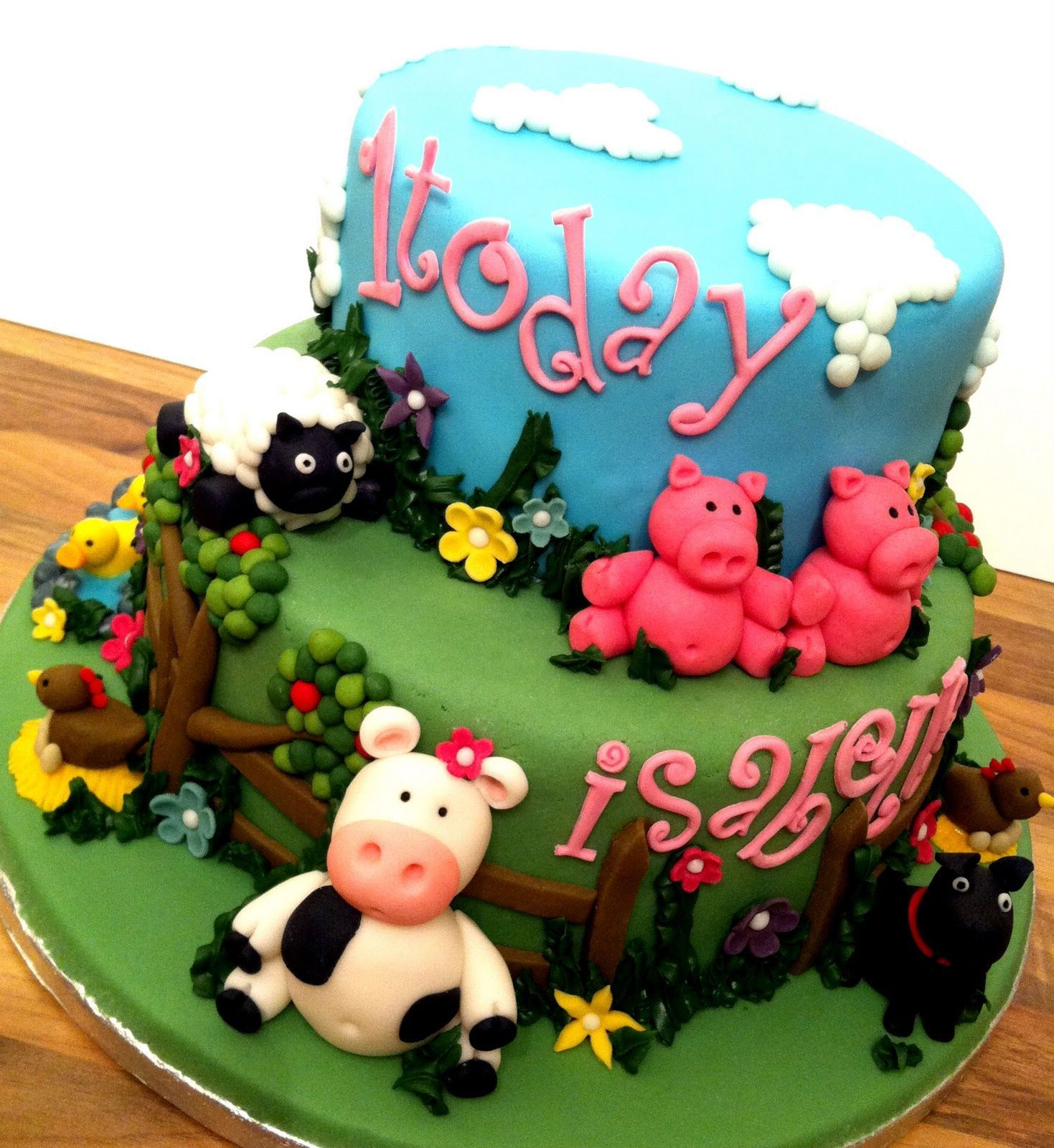 Girls John Deere Birthday Cake Birthday Cake Ideas Pinterest