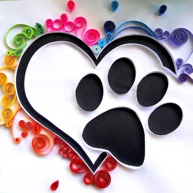 Trabajo realizado con sello @lauslau1 #gato #cat #paticadegato #cuadros #quilingart #quilling #filigranadepapel #papel #paper #animals #animales #love #amorporlosanimales #venezuela #caracas #hechoamano #hechoconamor #hechoenvenezuela #talentovenezolano