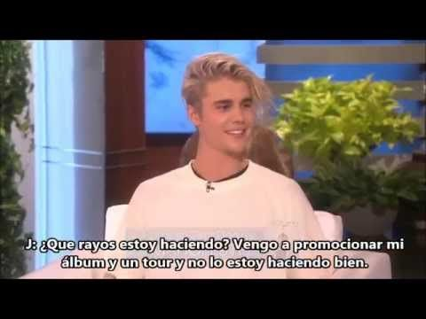 Justin Bieber confirma el Purpose Tour en Ellen
