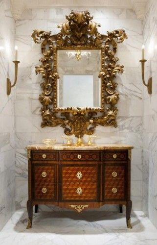 amazing powder rooms - Google Search