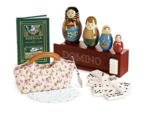 candle notebook NEW IN BOX Josefina/'s nighttime accessories Nina DOLL inkwell