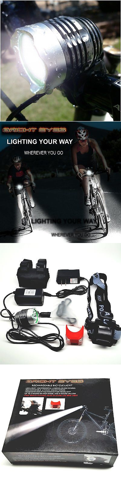 High Quality Lights And Reflectors 22689: One Week !!!! Bright Eyes Bike Bicycle Head