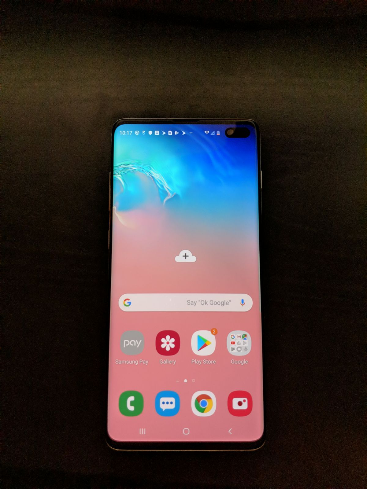 Pin On Samsung Home screen samsung galaxy s10 plus