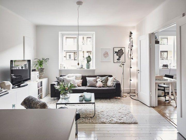 Estilo nórdico recargado Nordic style, Living rooms and Organizations
