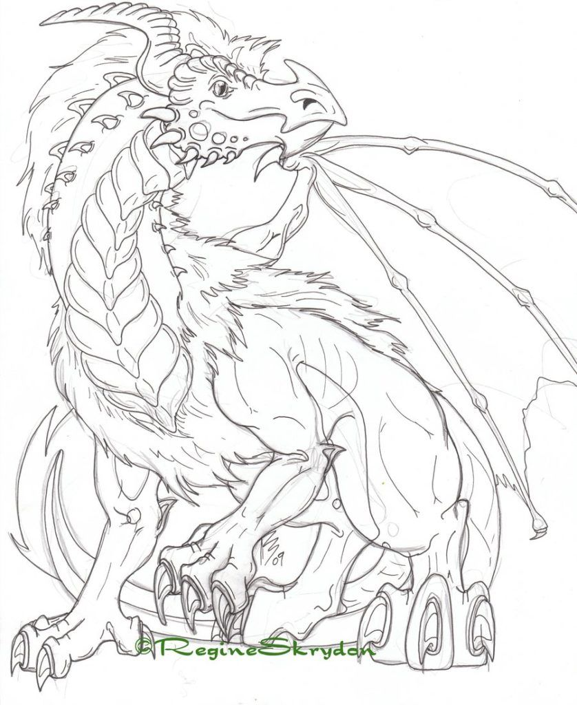 Coloring Pages Licious Dragon Coloring Pages For Adults