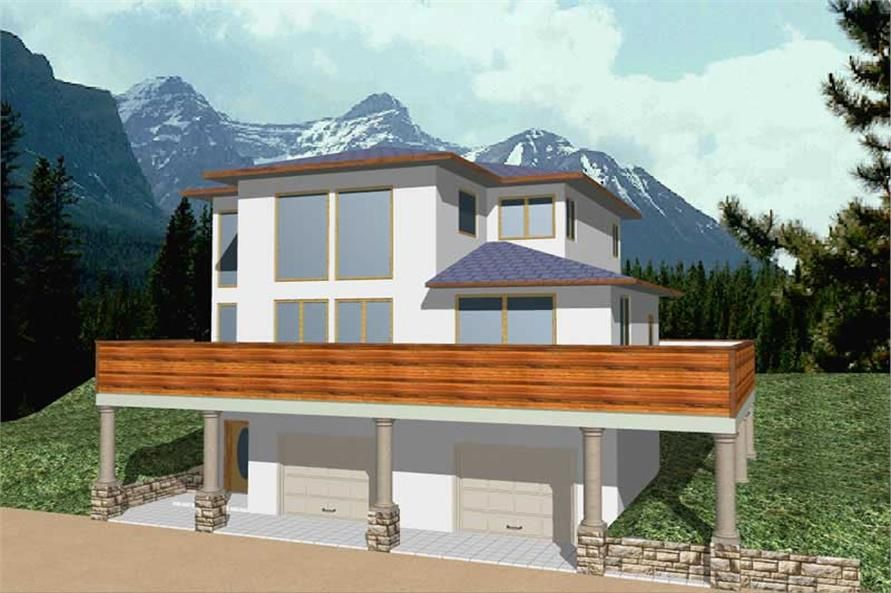 Main image for house plan 8780