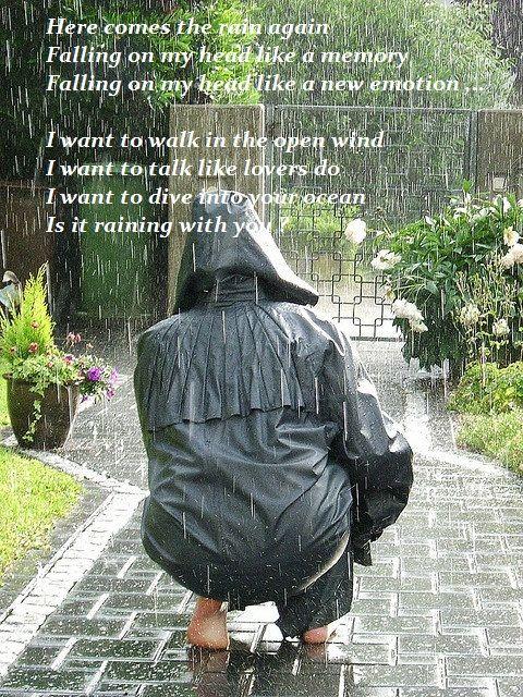 Here Comes The Rain Again Falling From The Stars Eurythmics Performing Here Comes The Rain Again Rain Love Rain Rain And Thunder