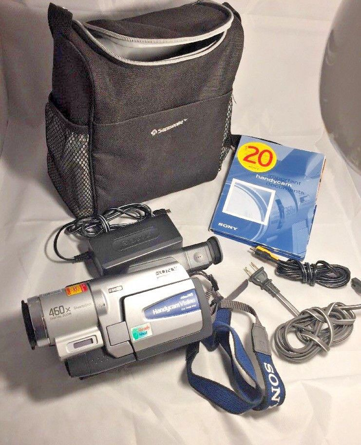 Sony Handycam CCD-TRV68 8mm Video8 HI8 Camcorder Player