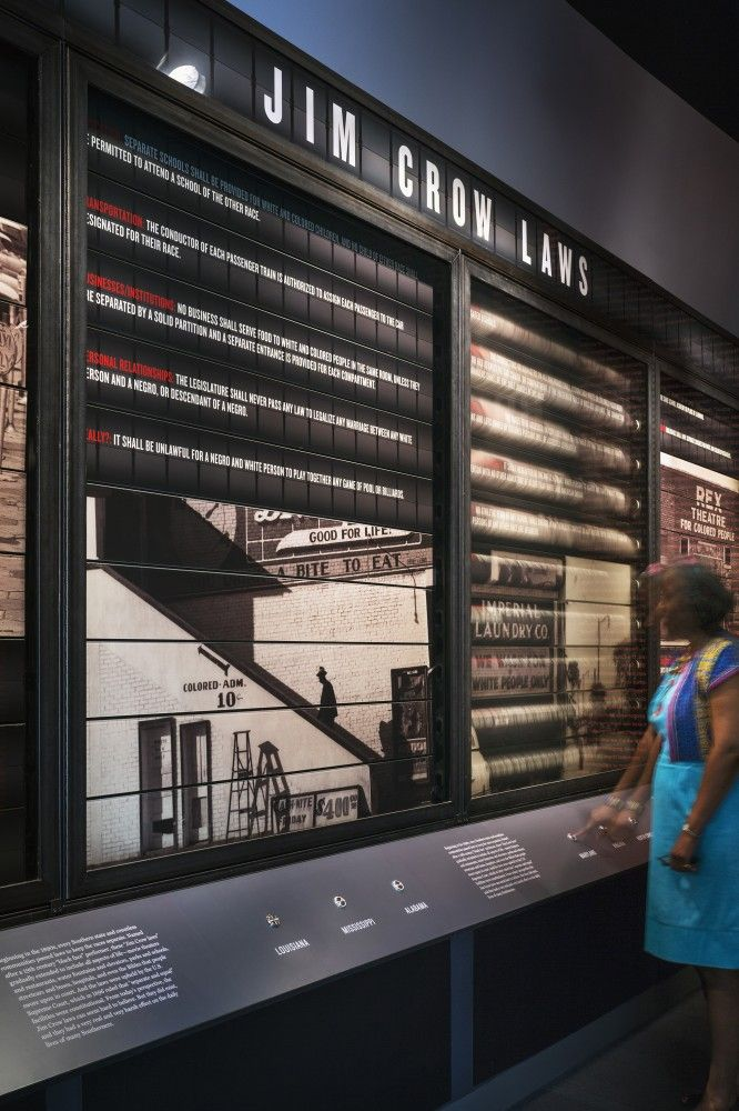 Gallery Of National Center For Civil And Human Rights Exhibit Design David Rockwell 15 Exhibition Design Museum Exhibition Design Exhibition