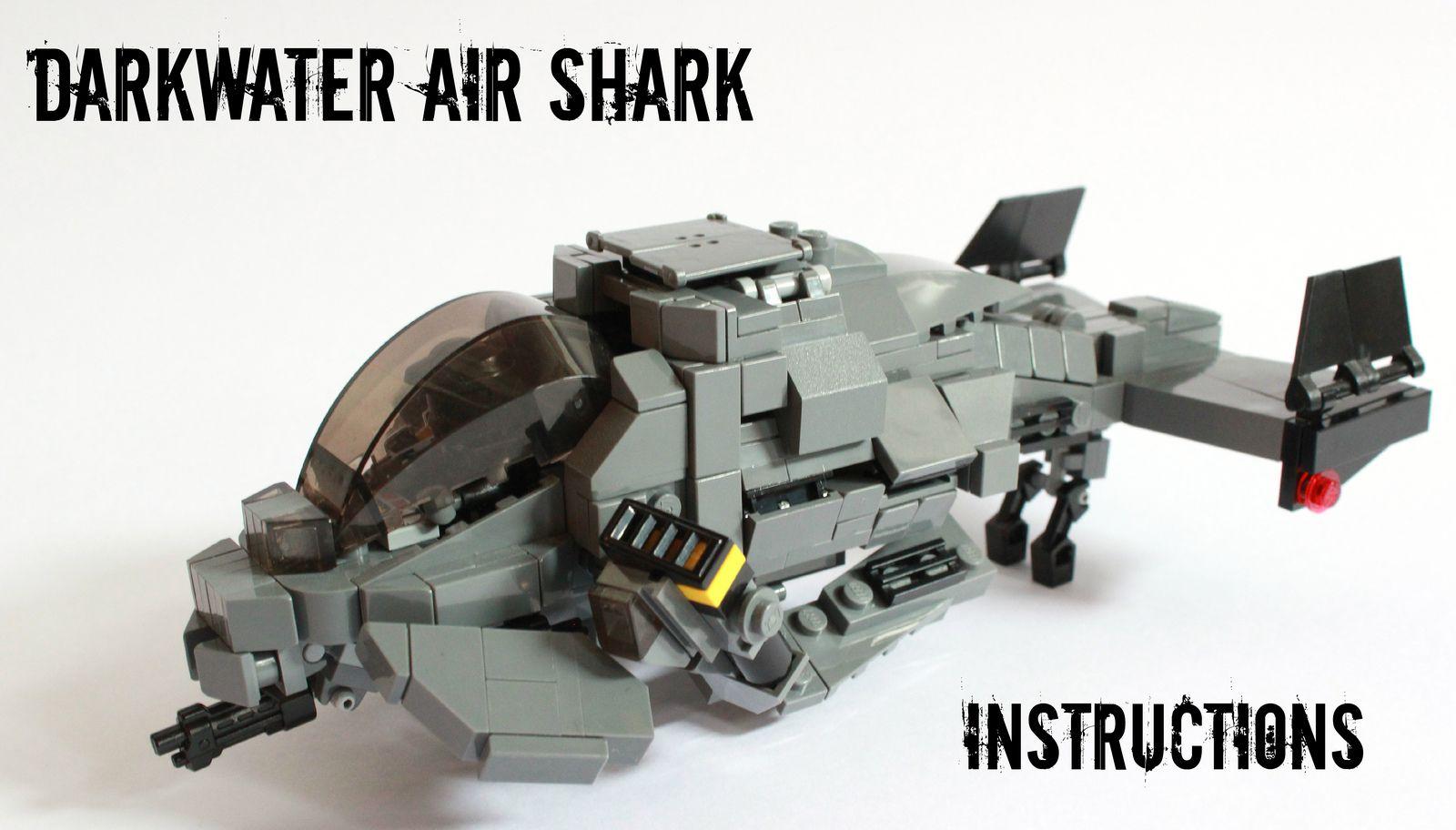 Air Shark Instructions Lego Vehicles Pinterest Shark Lego