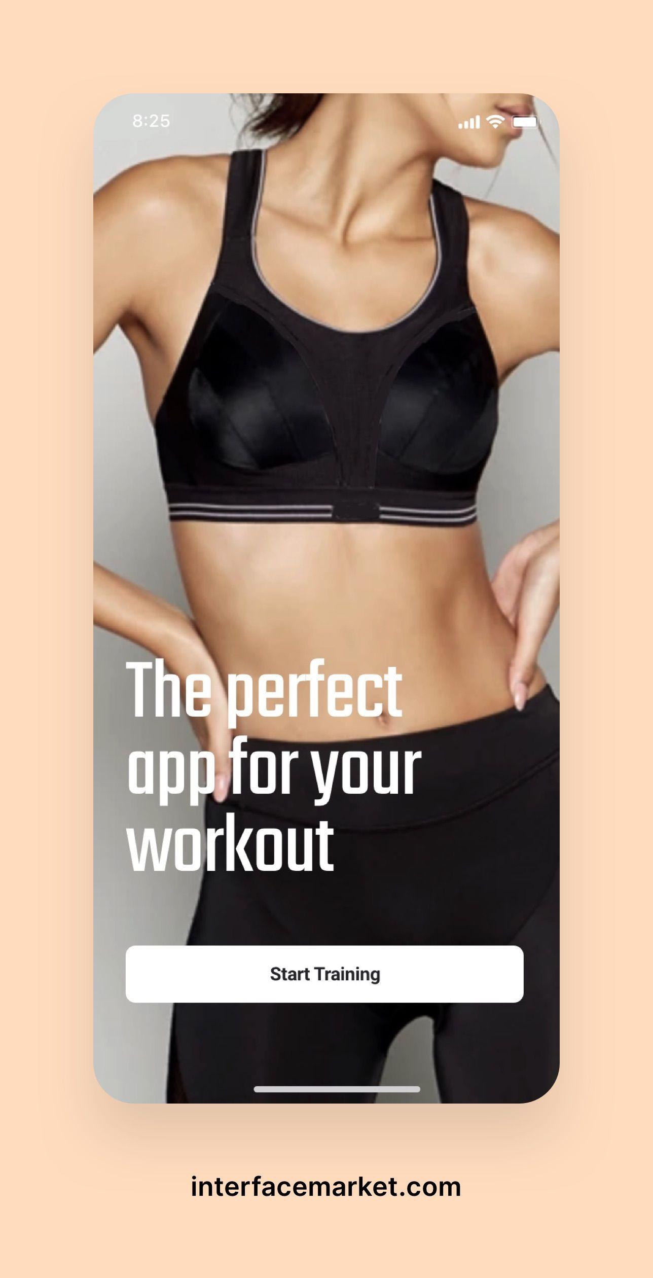 Pin On Fitness App Ui Kit