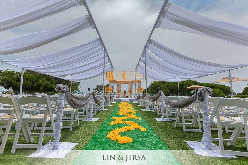 Laguna Cliffs Marriott Wedding Dana Point Mandaps Indian Wedding