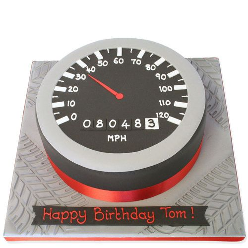 Speedometer Cake Cake makers Cake designs and Cake