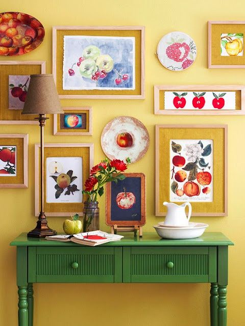 BHG Wall Ideas & Solutions | Wall ideas, Cozy and Yellow mirrors