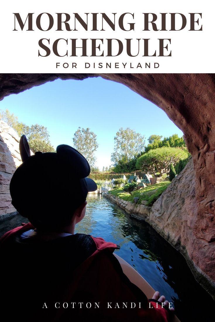 Photo of Disneyland Morning Ride Zeitplan   8-10 Uhr – Ein Baumwoll-Kandi-Leben