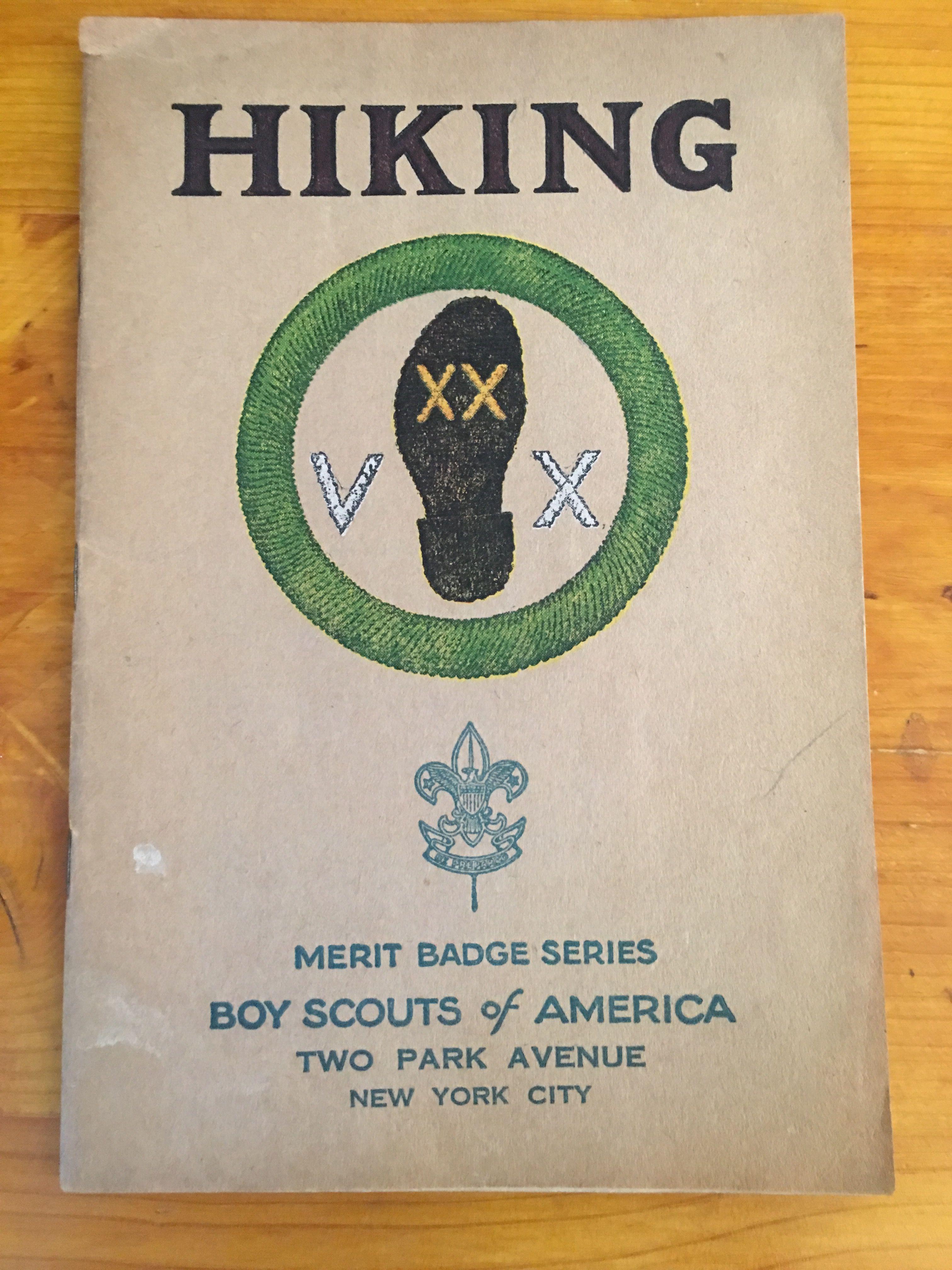 Hiking Merit Badge Book