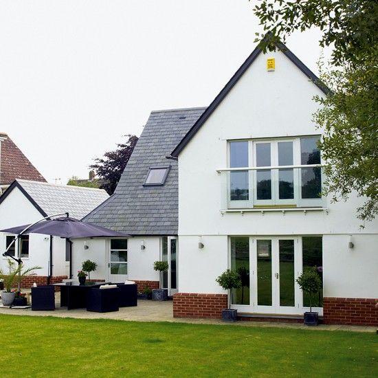 Modern dormer bungalow dormer bungalow bungalow and for Modern house exterior uk