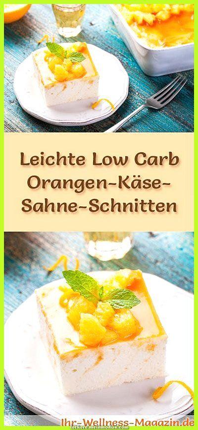 Elegante Quarkcremescheiben mit schneller Orange und ohne Kohlenhydrate - ohne Kochen - zucke... Elegante Quarkcremescheiben mit schneller Orange und ohne Kohlenhydrate - ohne Kochen - zuckerfreies Rezept