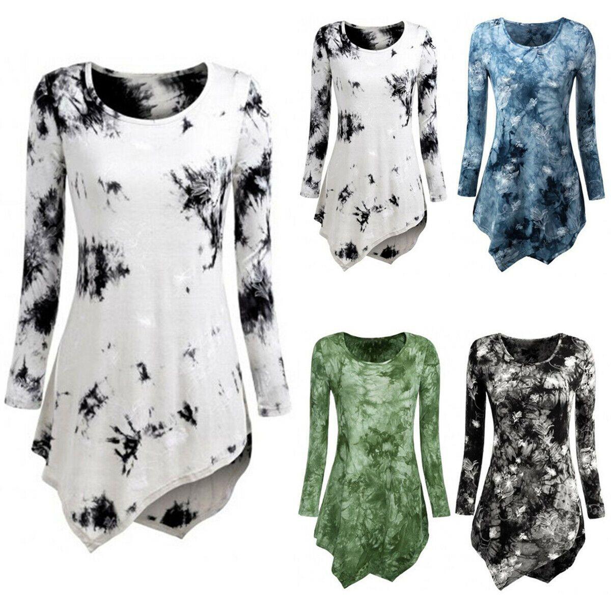 im Angebot neu kommen an Vielzahl von Designs und Farben Damen Blumen Sommer Blusenkleid Longbluse Shirtkleid ...