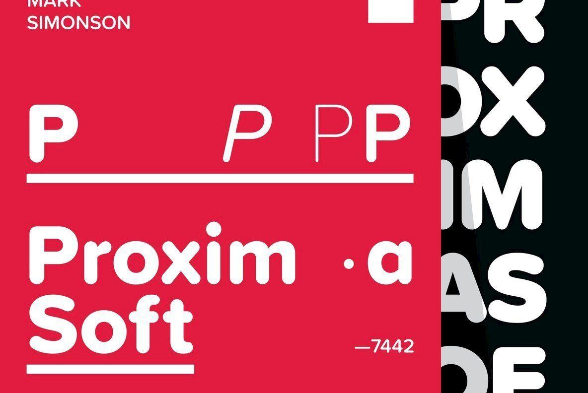 Proxima Soft Desktop Font Webfont Youworkforthem Soft Lettering Lettering Design