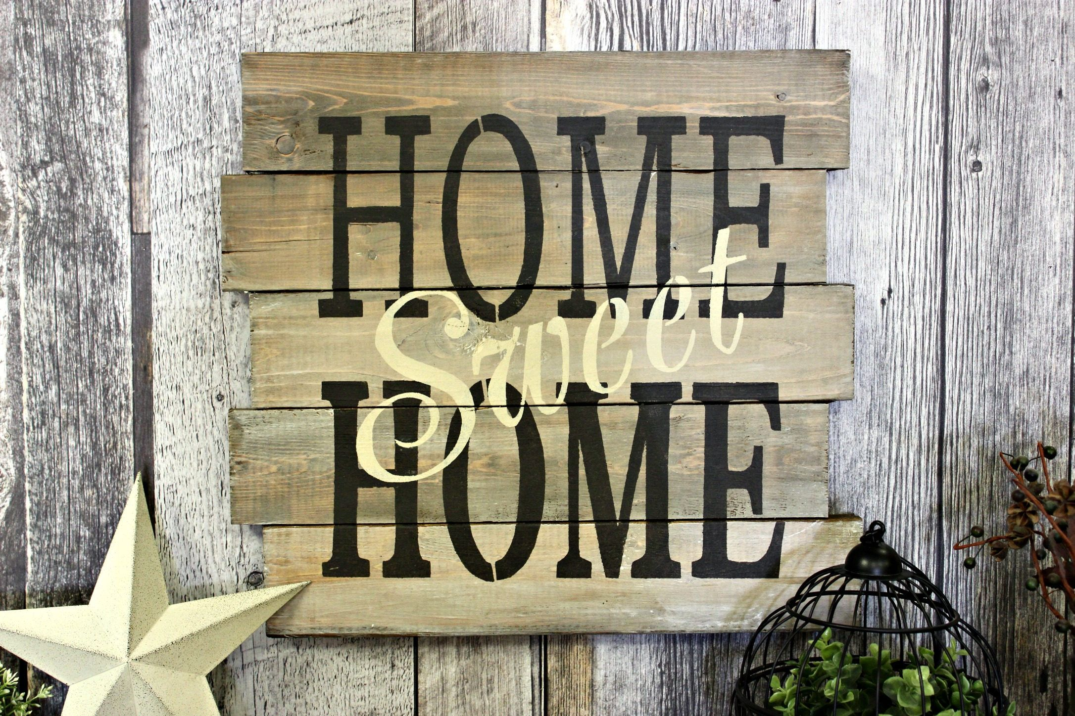 Country Decor Wood Signs Glamorous Home Sweet Homerustic Decorwood Signcountry Decor Design Ideas