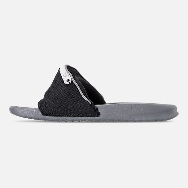 ac2e592b33e Left view of Men s Nike Benassi JDI Fanny Pack Slide Sandals