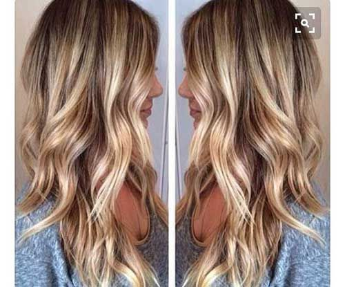Stilvolle Gewellte Lange Haar Ideen Casual Fall Blonde