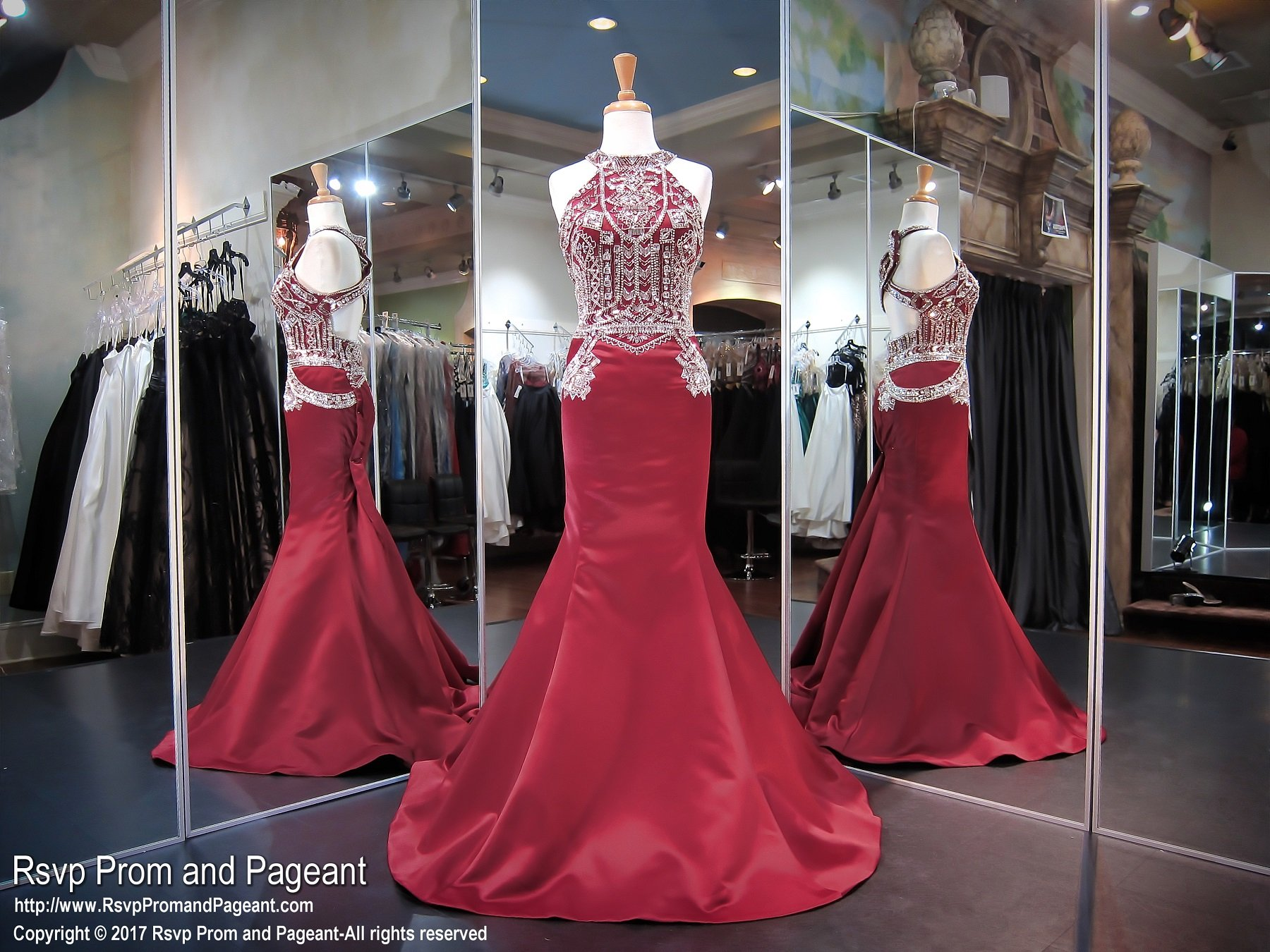 Marsala plus high neckline mermaid prom dress prom pinterest