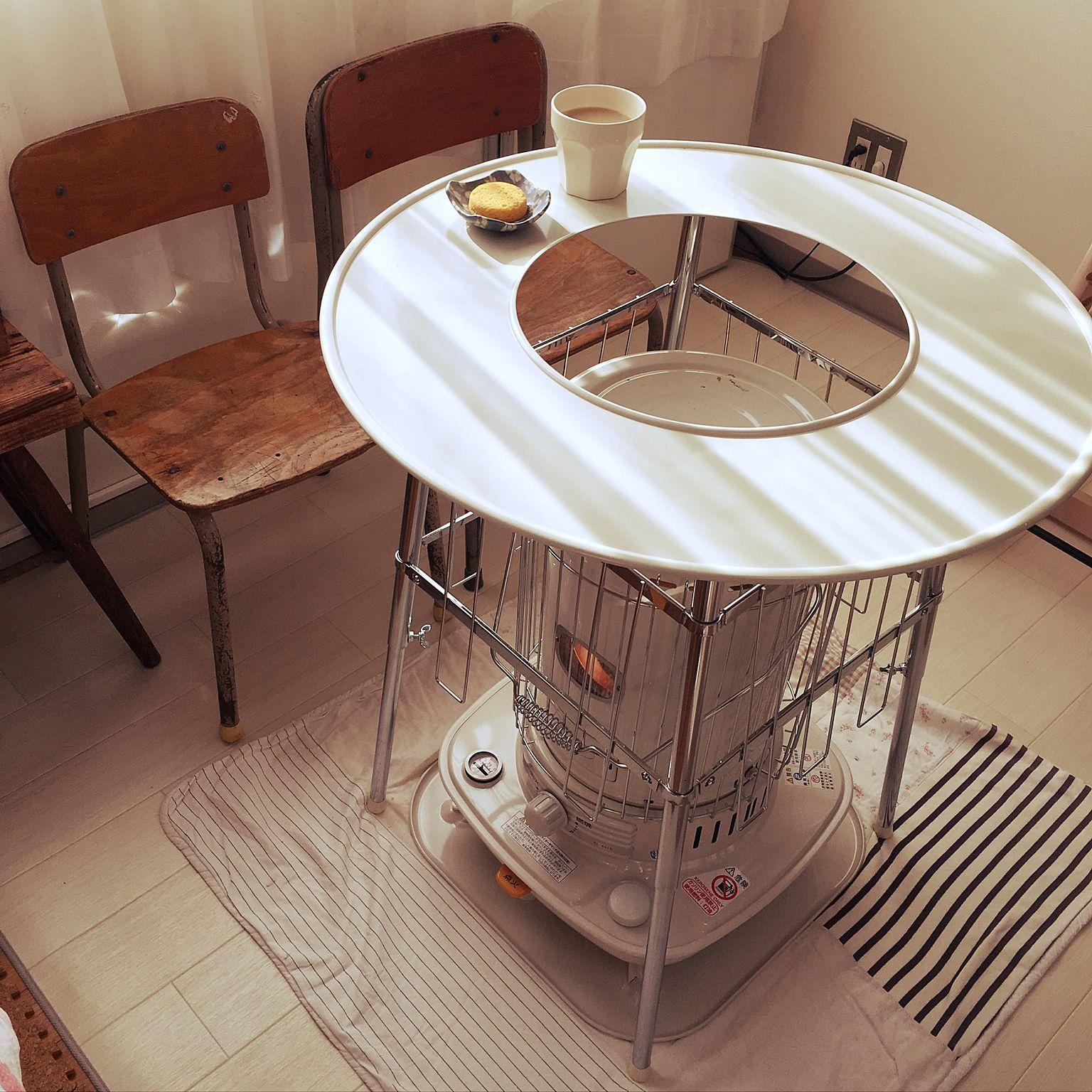 リビング おしゃれなヤカンが欲しい 学校の椅子 ティータイム ストーブガード などのインテリア実例 2017 01 28 10 31 32 Roomclip ルームクリップ インテリア インテリア 家具 インテリア 装飾