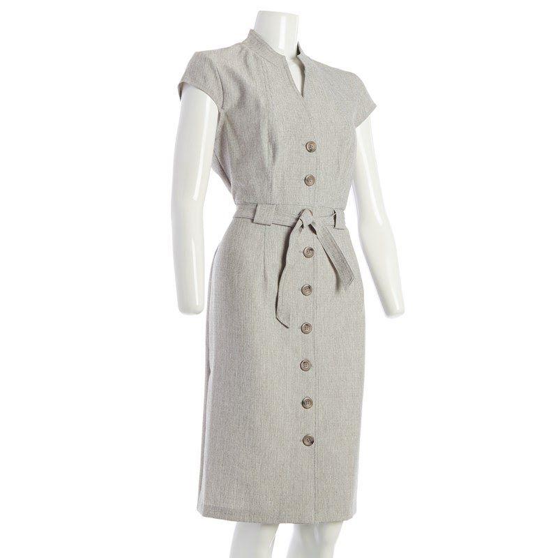 Belted Shirt Dress 238636048 Dresses Regular Shop By Size