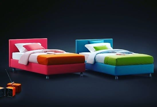 Camerette Per Ragazzi Flou.Upholstery Bed Is Gradually Warming The Hearts Of Kids These Days