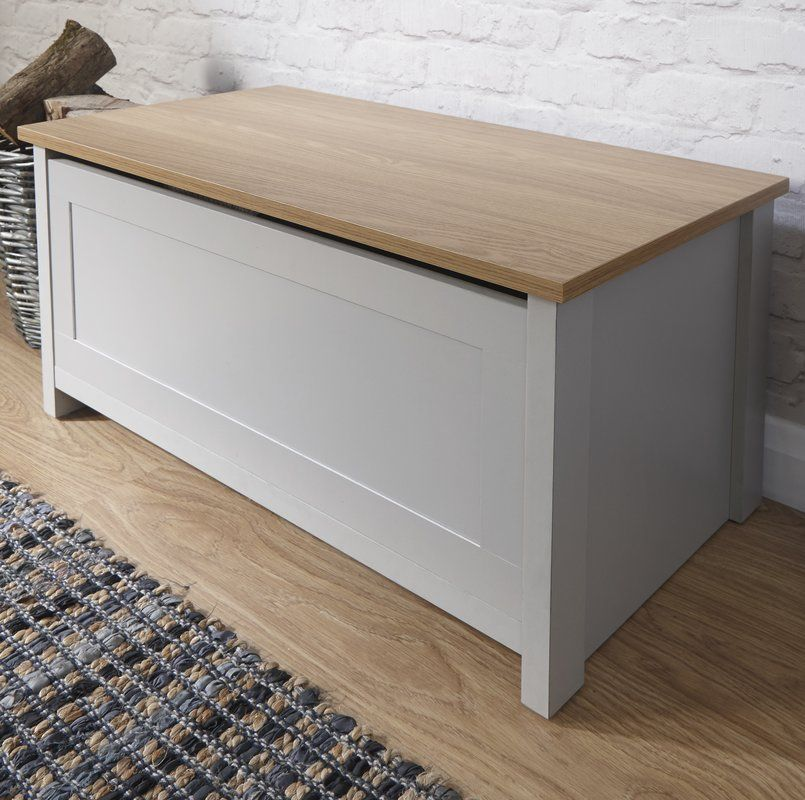 Boaman Storage Chest Home Decor Blanket Box Furniture