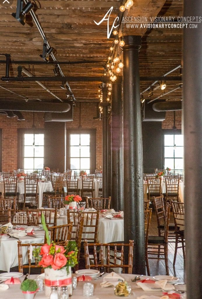 Pearl Street Brewery Buffalo Ny Brewery Wedding Buffalo Wedding Table Settings