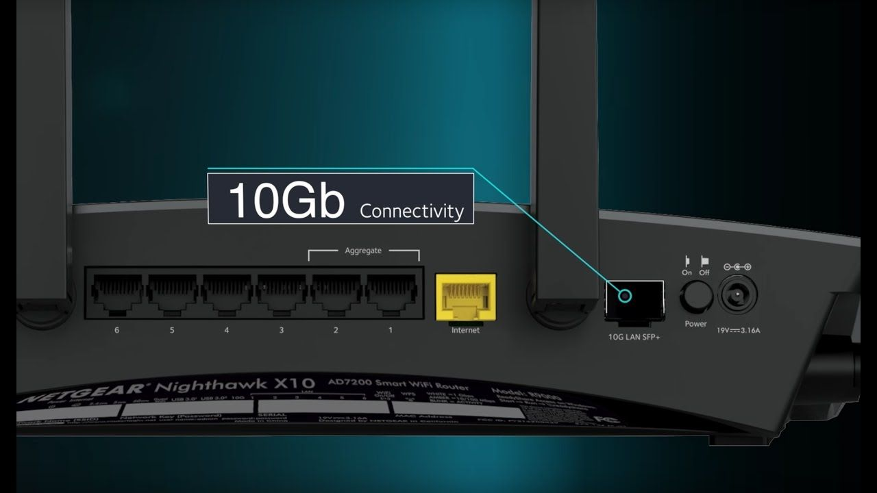 How to setup and login to the Nighthawk AD7200 R9000