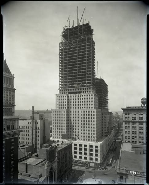 Shortly Before Union Terminal Was Completed Carew Tower