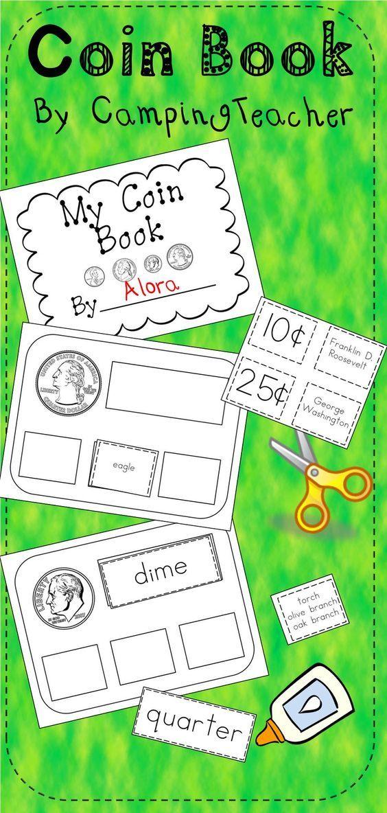 Coin Book and Posters Homeschool math, Coin books, Math