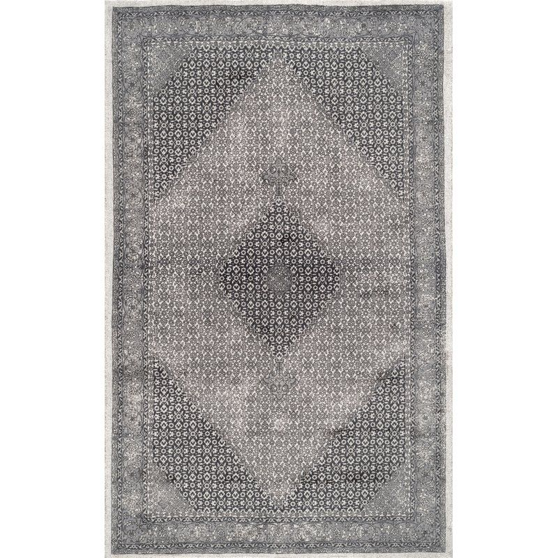 Perlman Hand Tufted Wool Gray Area Rug Area Rugs Rugs