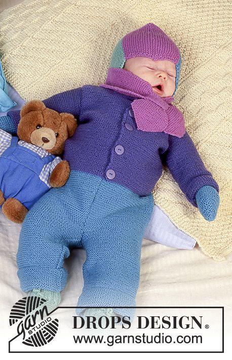 Colourful Dreams / DROPS Baby 4-18 - Chaquetita, pantalón, gorro ...
