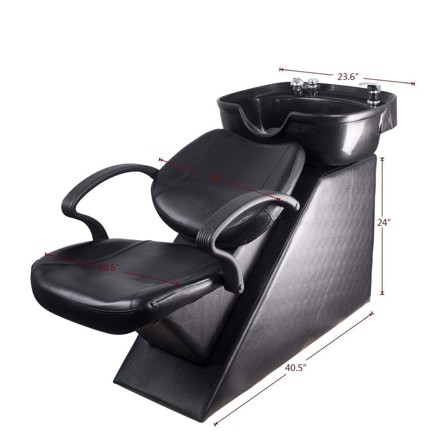 Shampoo Sink And Chair Banquet Covers Salon Barber Beauty Spa Equipment Backwash Bowl Personal Care