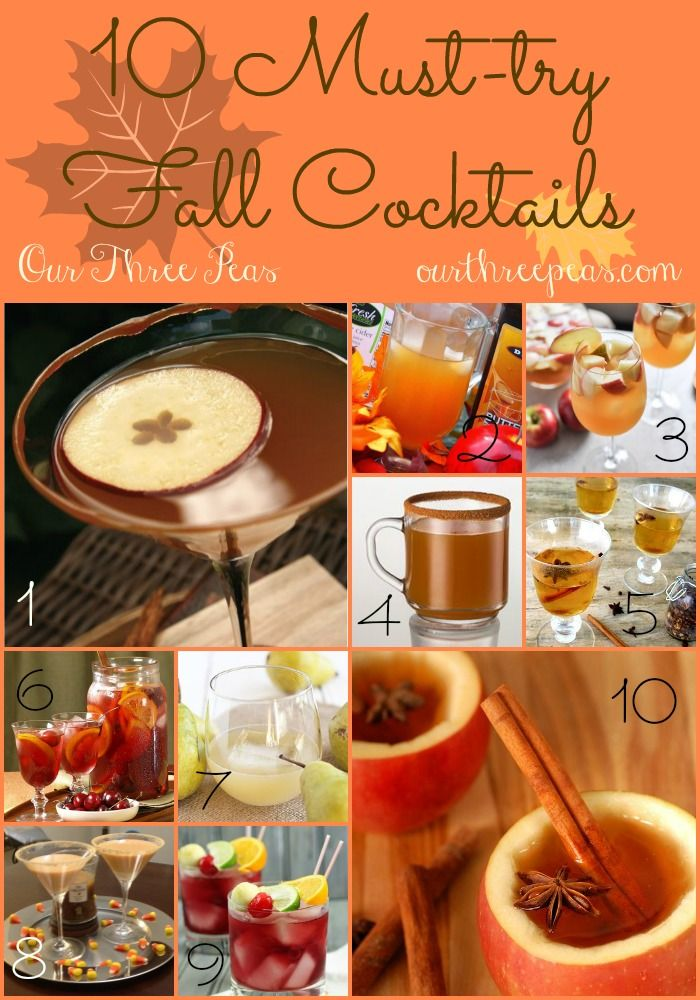 10 MustTry Fall Cocktails (With images) Fall cocktails