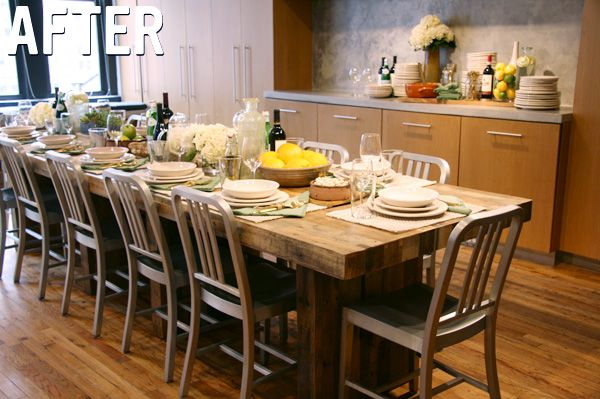 emmerson dining table party entertain furniture saveur magazine