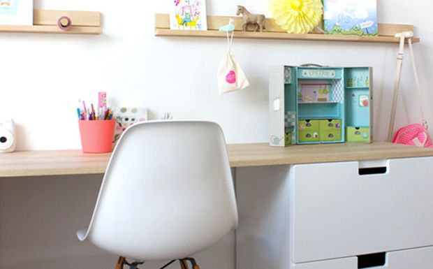 Bureau enfants google kids room pinterest office desk bureaus desk for Bureau fille ikea