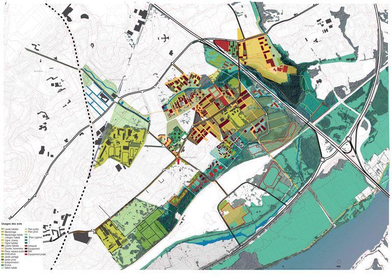 Atelier de paysages Bruel Delmar - Agro-Quartier des Gohards à Nantes